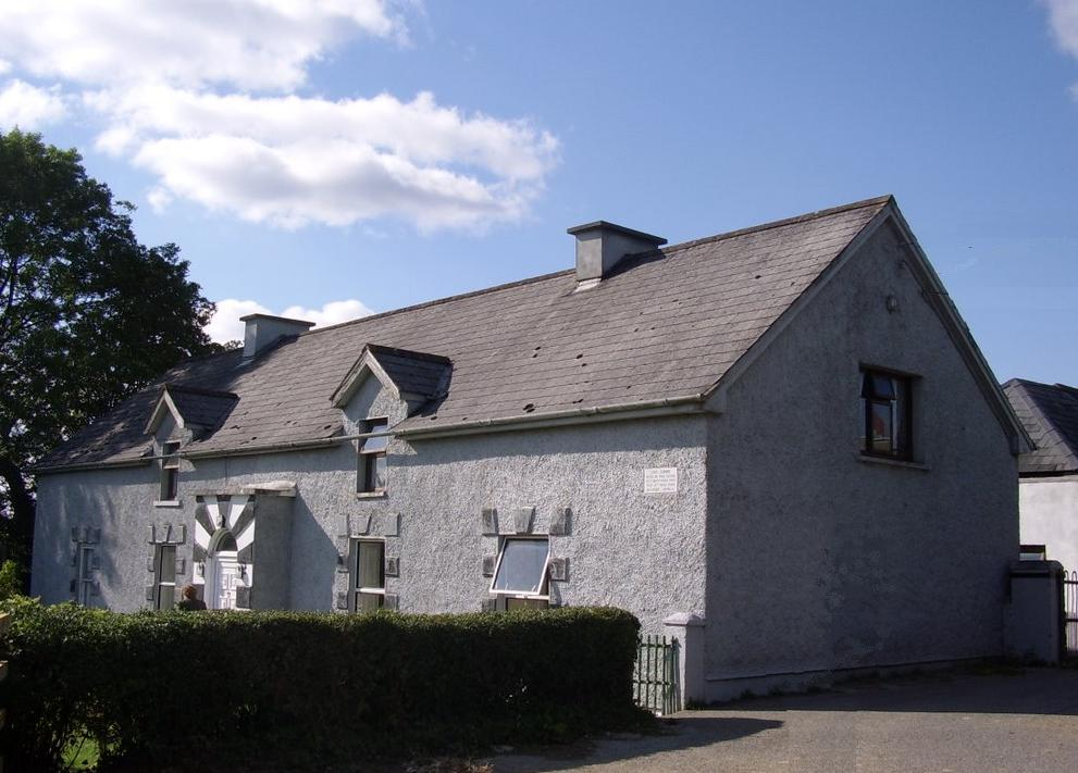 The house in which Edel was born, Kanturk, Co. Cork.