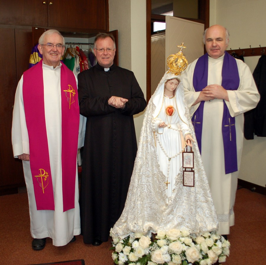mini-_Fr. Leahy, Fr. Burke and Canon Michael