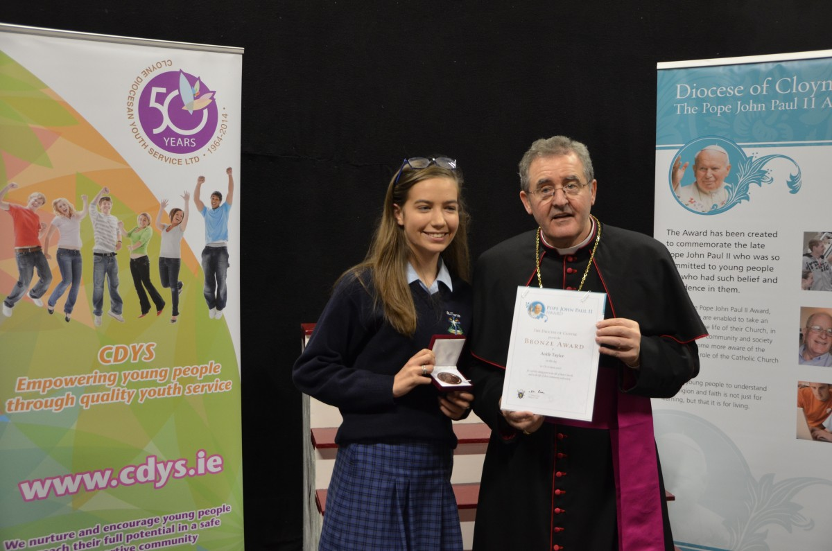 Aoife Taylor St Mary's Mallow & Bishop Crean
