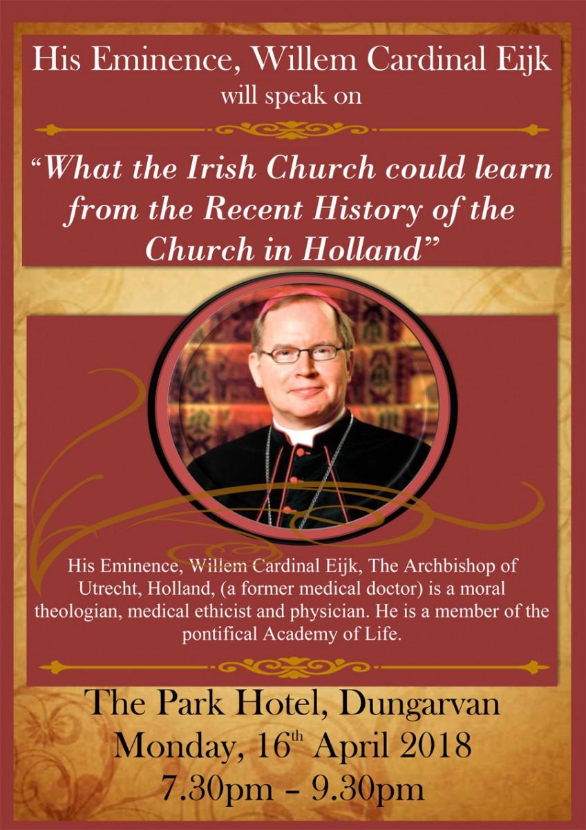 Cardinal-Eijk-Talk---Poster