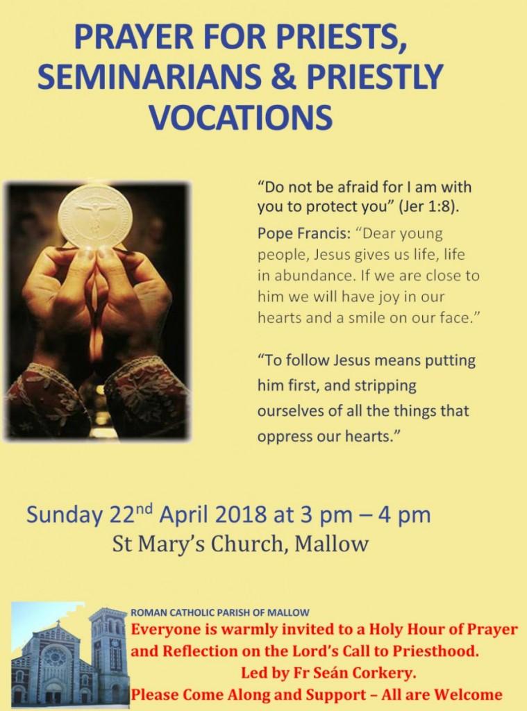 Prayer-Service-for-Vocations-22-April-2018-Poster-