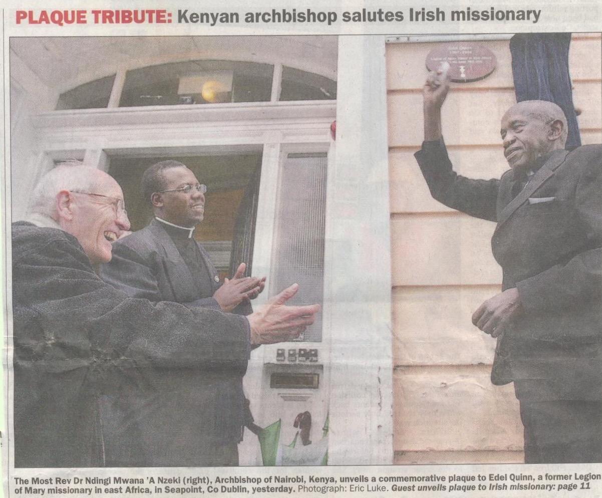 Archbishop Ndingi - 4th October 2007 (1)