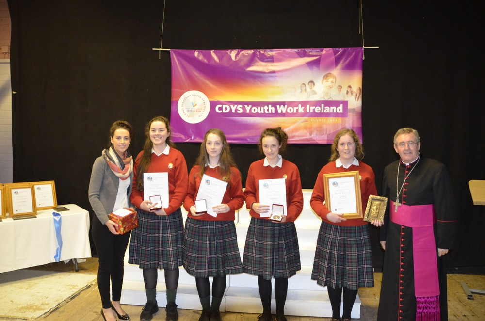 Students from Sacred Heart Secondary School Clonakilty