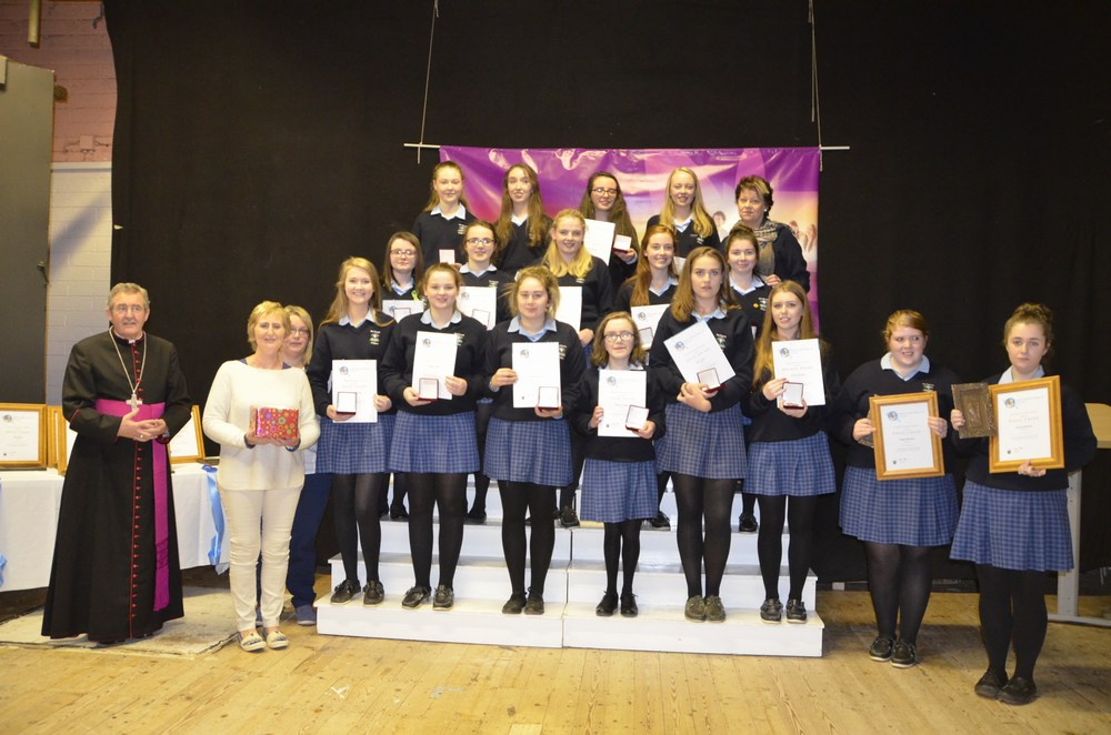 Students from St Mary's Secondary school Mallow